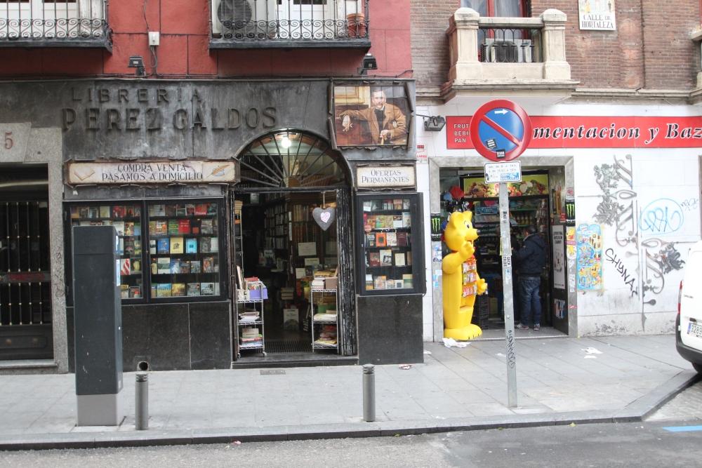 Librería Pérez Galdós, calle Hortaleza, 5 (1/5)