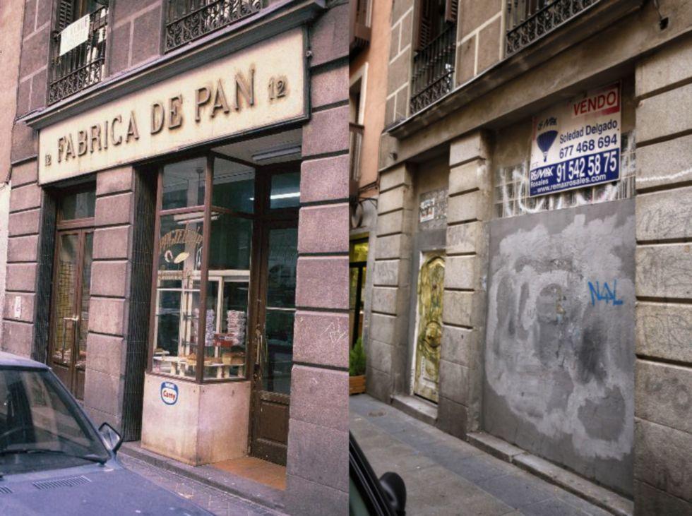 Fachadas de establecimientos antiguos desaparecidos. Reportaje de El País (6/6)