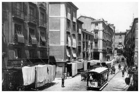 Calle Toledo c. 1890