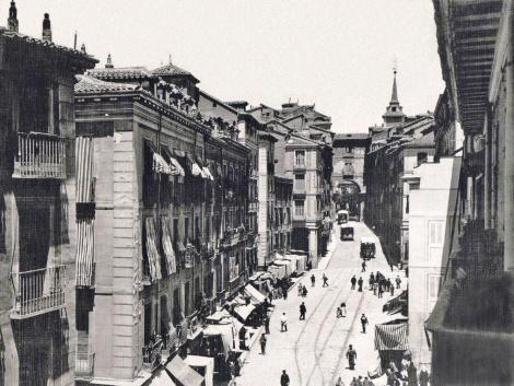 Calle de Toledo a finales del s. XIX
