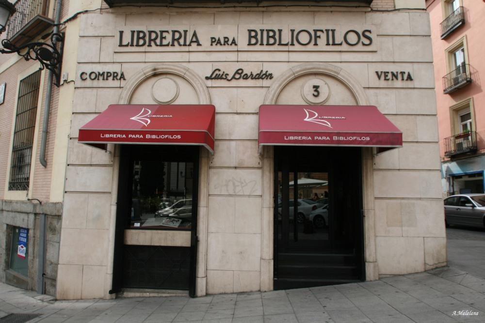 Librería Bardon. Plaza de San Martín, 3. Barrio de Sol (2/3)