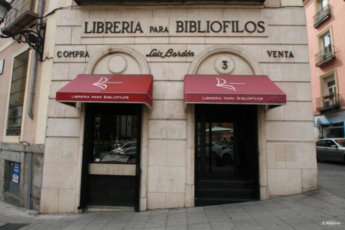 Librería Bardon. Plaza de San Martín, 3. Barrio de Sol | El ...