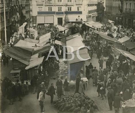 Santa Cruz en la navidad de 1926. Foto de José Zegri (ABC, 25-XII-1926)