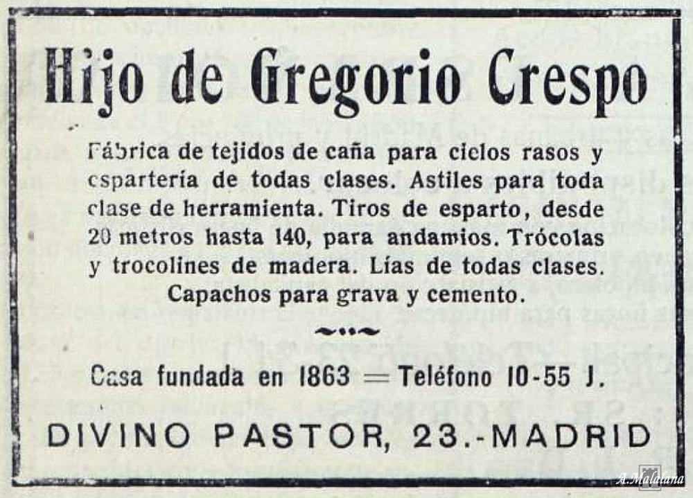 Antigua Casa Crespo. Calle del Divino Pastor, 29. Barrio de Malasaña (5/6)