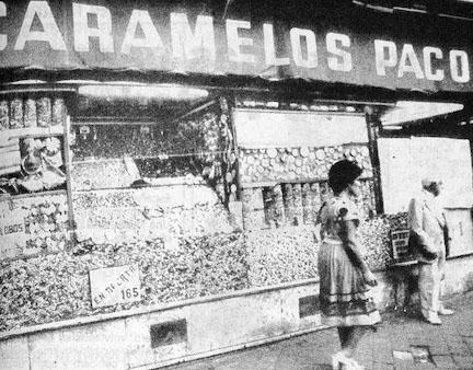 Caramelos Paco. Calle Toledo, 55. Barrio de Embajadores (5/6)