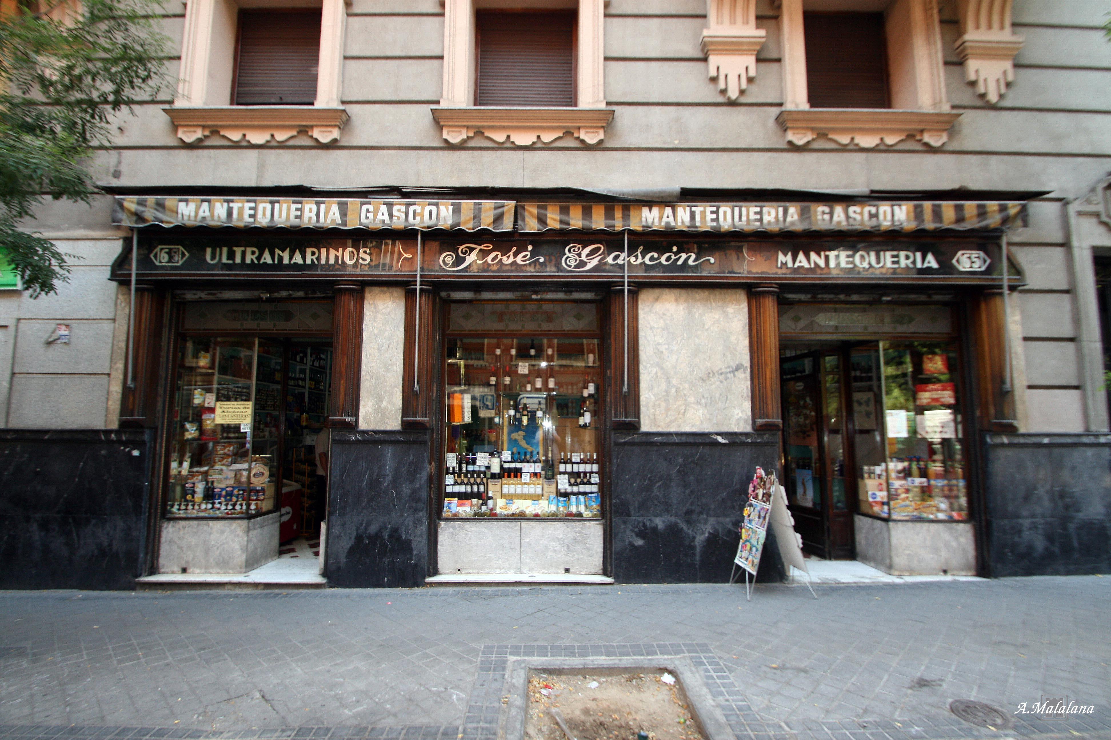 Mantequeria Jose Gascon Calle Zurbano 65 Calle De Almagro El