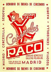 Caramelos Paco. Calle Toledo, 55. Barrio de Embajadores (2/6)