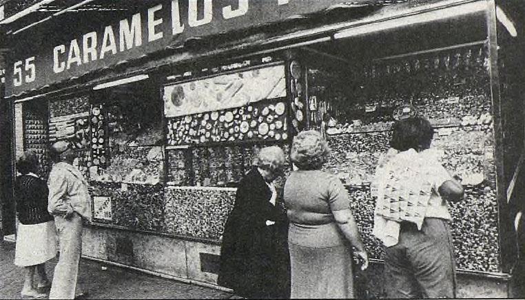 Caramelos Paco. Calle Toledo, 55. Barrio de Embajadores (6/6)
