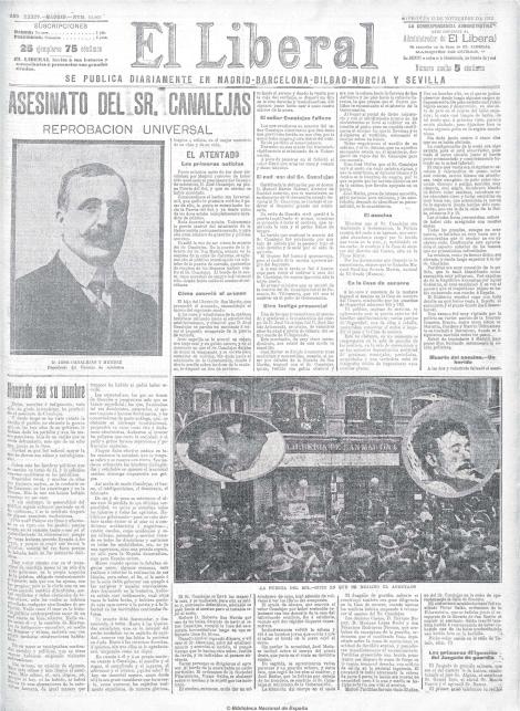 El Liberal (Madrid. 1879). 13-11-1912 1